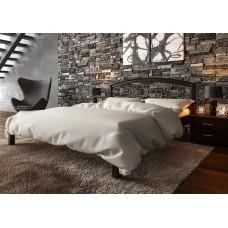 Деревянная кровать «Британия» с ковкой