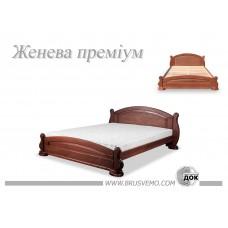 Деревянная кровать «Женева»