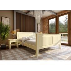 Деревянная кровать «Глория» высокое изножье