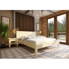Деревянная кровать «Глория» низкое изножье