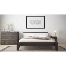 Деревянная кровать «Венеция» с мягким изголовьем