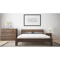 Деревянная кровать «Венеция» с ковкой
