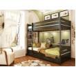 Двухярусные деревянные кровати (8)