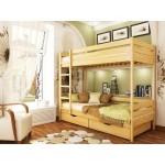Деревянная кровать «Дуэт»