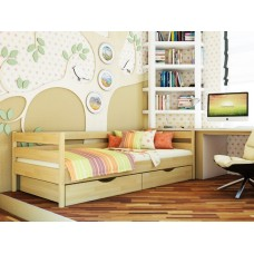 Деревянная кровать «Нота»