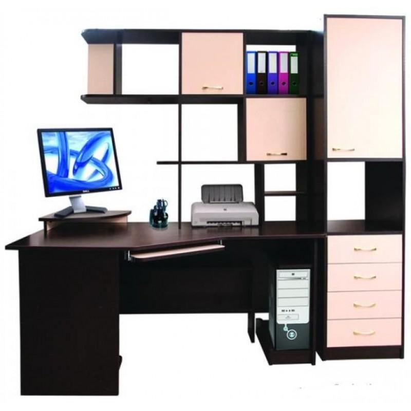 Компьютерный стол со шкафами заказать минск.