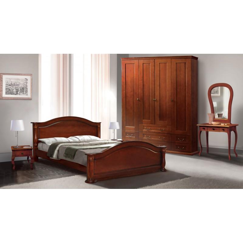 Деревянная кровать «Анастасия»
