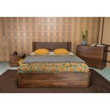 Деревянная кровать «Грейс» с ящиками