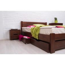 Деревянная кровать «Айрис» с ящиками