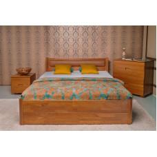 Деревянная кровать «Марго» мягкая с ящиками