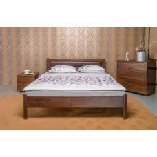 Деревянная кровать «Марго» с мягкой спинкой