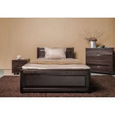 Деревянная кровать «Марго» филёнка с ящиками