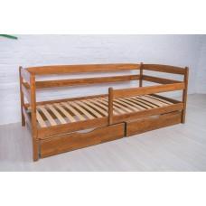 Деревянная кровать «Марио люкс» с ящиками